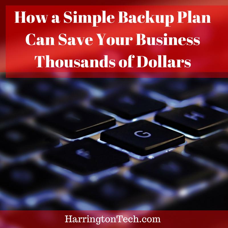 Simple Backup Plan